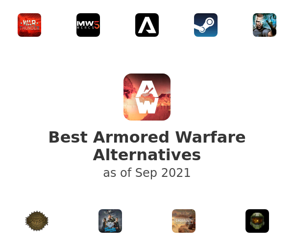 Best Armored Warfare Alternatives