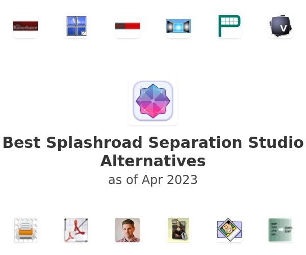 Best Splashroad Separation Studio Alternatives