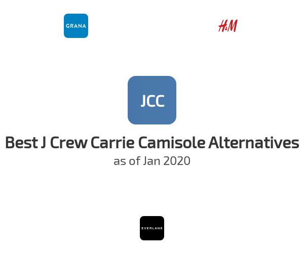 Best J Crew Carrie Camisole Alternatives