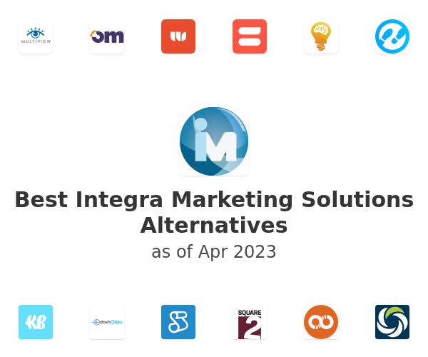 Best Integra Marketing Solutions Alternatives