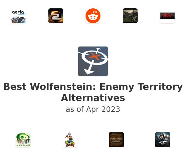 Best Wolfenstein: Enemy Territory Alternatives