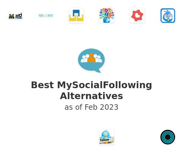 Best MySocialFollowing Alternatives