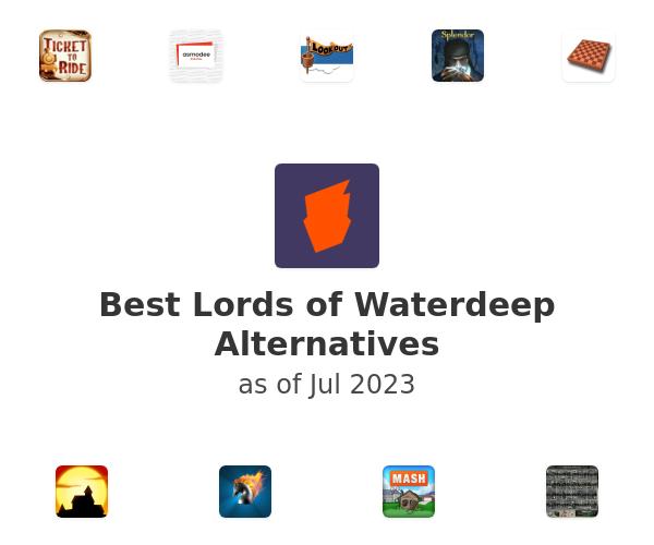 Best Lords of Waterdeep Alternatives