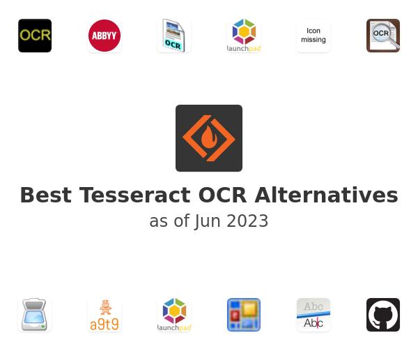 Best Tesseract OCR Alternatives
