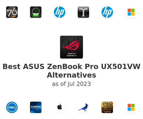 Best ASUS ZenBook Pro UX501VW Alternatives