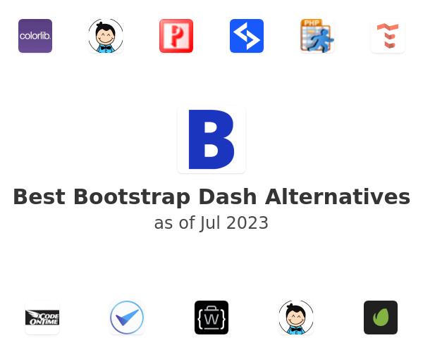 Best Bootstrap Dash Alternatives