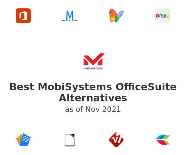 Best MobiSystems OfficeSuite Alternatives