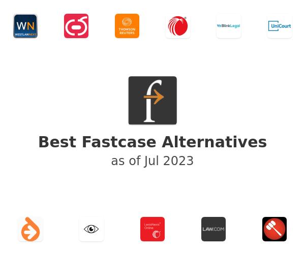 Best Fastcase Alternatives
