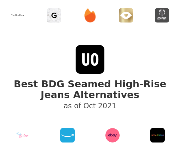 Best BDG Seamed High-Rise Jeans Alternatives