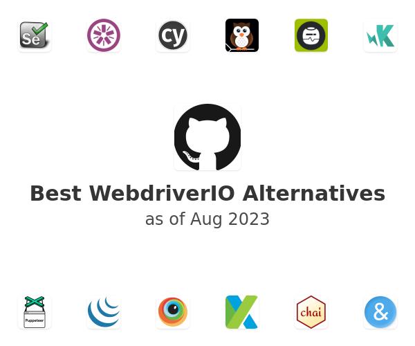 Best WebdriverIO Alternatives