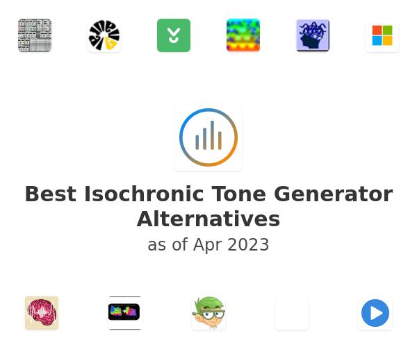 Best Isochronic Tone Generator Alternatives