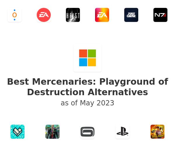Best Mercenaries: Playground of Destruction Alternatives
