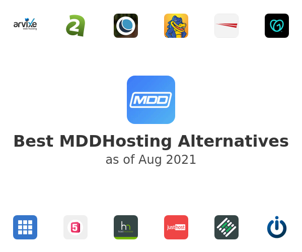 Best MDDHosting Alternatives
