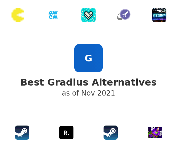 Best Gradius Alternatives
