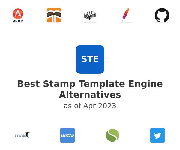 Best Stamp Template Engine Alternatives