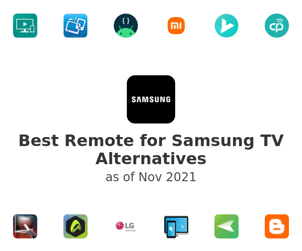 Best Remote for Samsung TV Alternatives