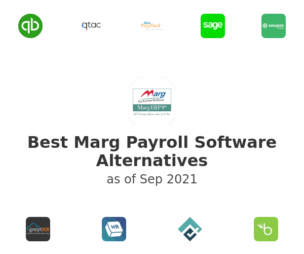 Best Marg Payroll Software Alternatives