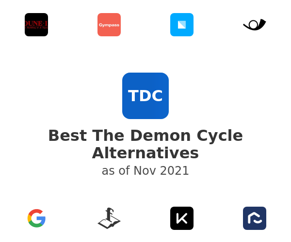 Best The Demon Cycle Alternatives