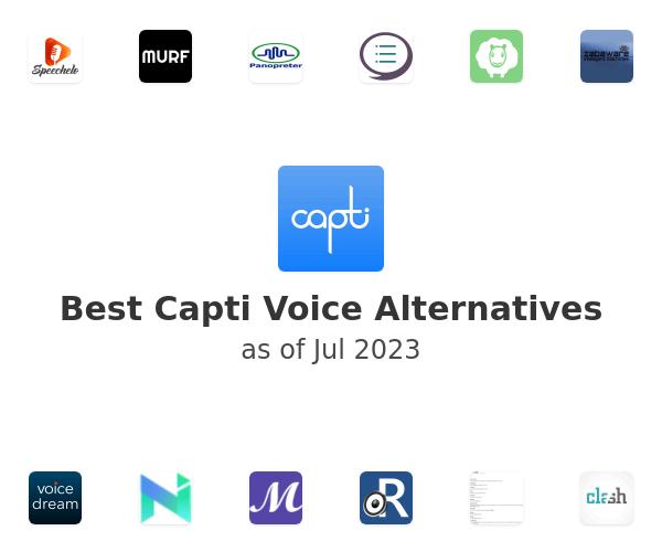 Best Capti Voice Alternatives