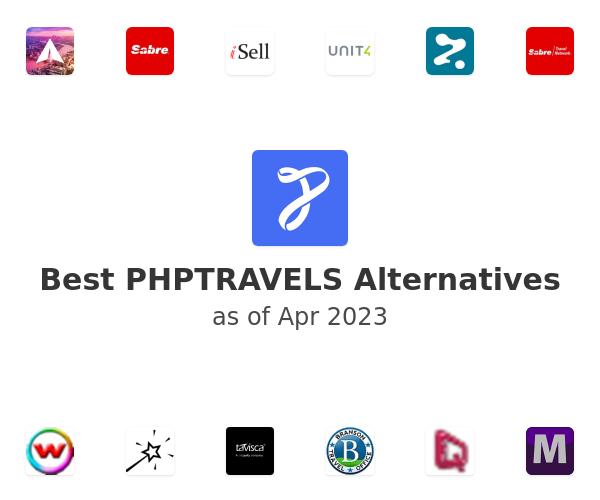 Best PHPTRAVELS Alternatives