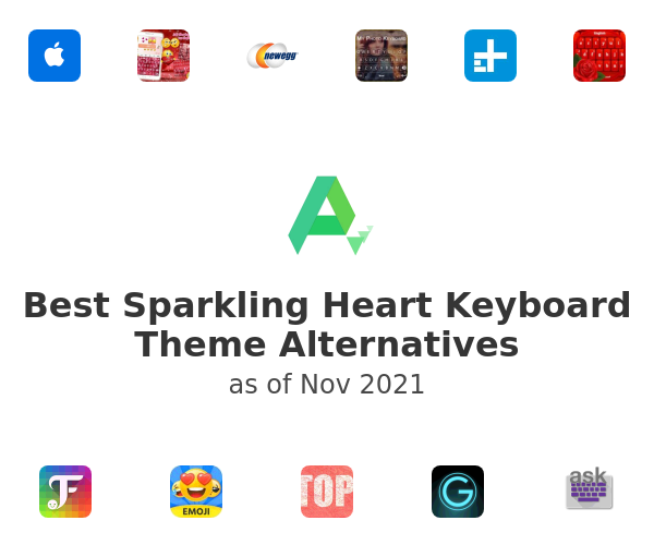 Best Sparkling Heart Keyboard Theme Alternatives