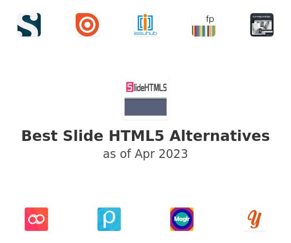 Best Slide HTML5 Alternatives