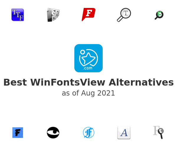 Best WinFontsView Alternatives