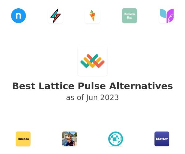 Best Lattice Pulse Alternatives