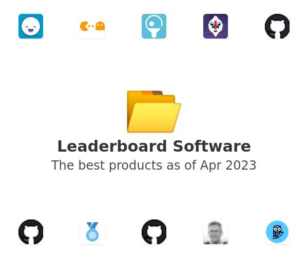 Leaderboard Software