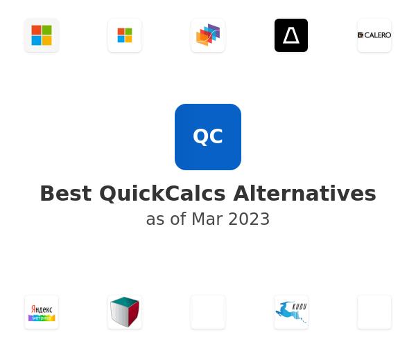 Best QuickCalcs Alternatives
