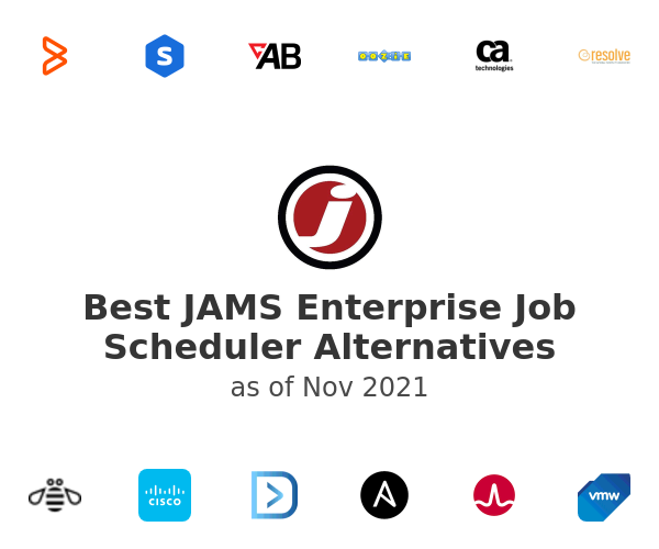 Best JAMS Enterprise Job Scheduler Alternatives