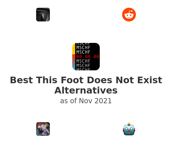 Best This Foot Does Not Exist Alternatives