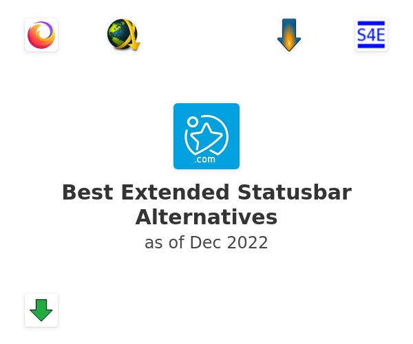 Best Extended Statusbar Alternatives