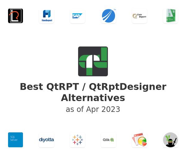 Best QtRPT / QtRptDesigner Alternatives