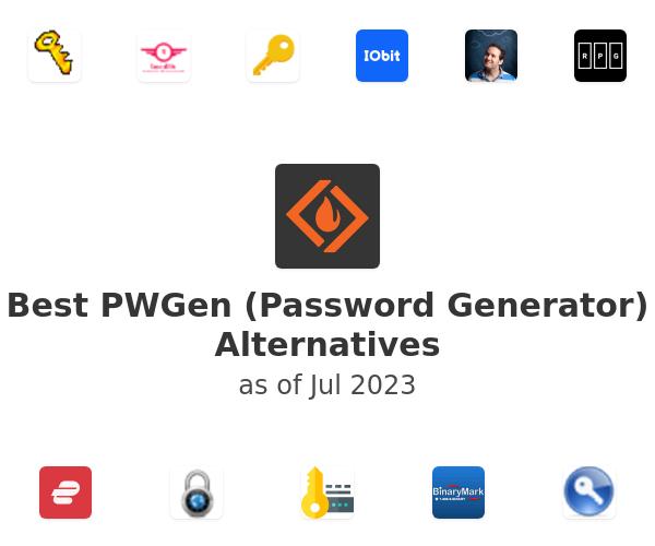Best PWGen (Password Generator) Alternatives