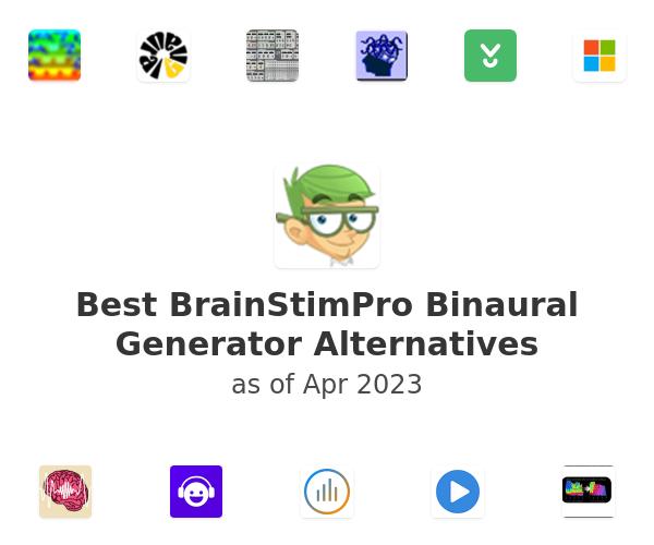 Best BrainStimPro Binaural Generator Alternatives