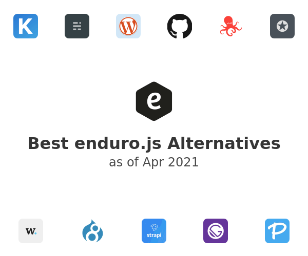 Best enduro.js Alternatives