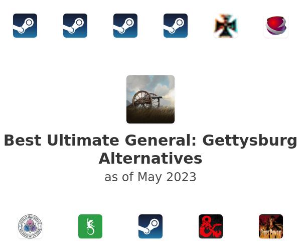 Best Ultimate General: Gettysburg Alternatives