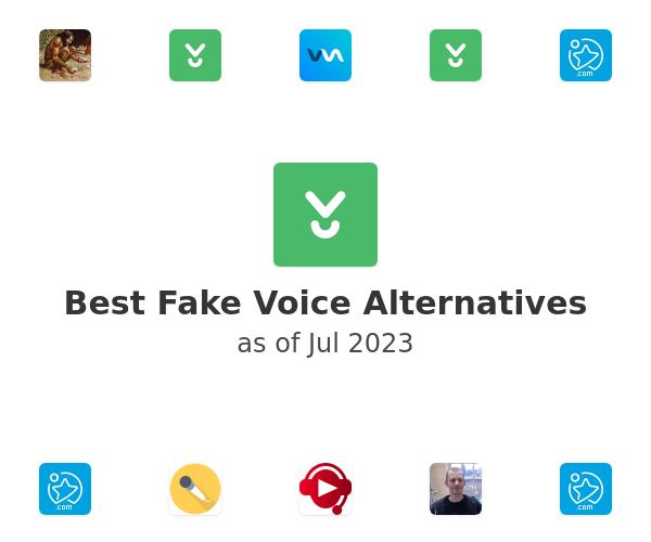 Best Fake Voice Alternatives