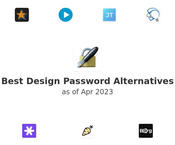 Best Design Password Alternatives