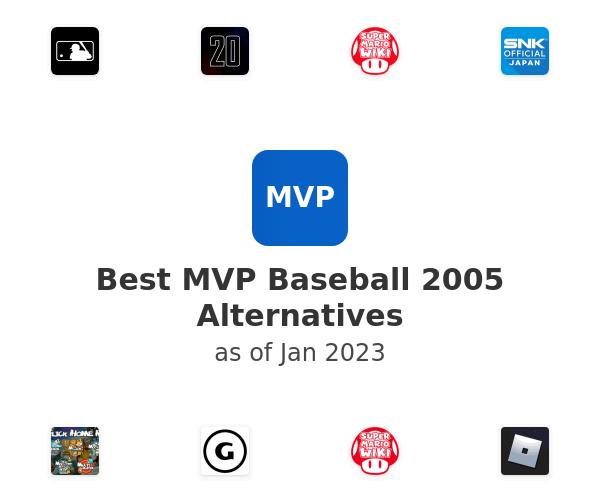 Best MVP Baseball 2005 Alternatives