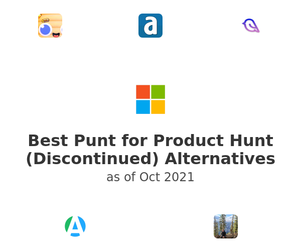 Best Punt for Product Hunt (Discontinued) Alternatives