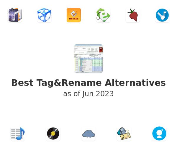 Best Tag&Rename Alternatives