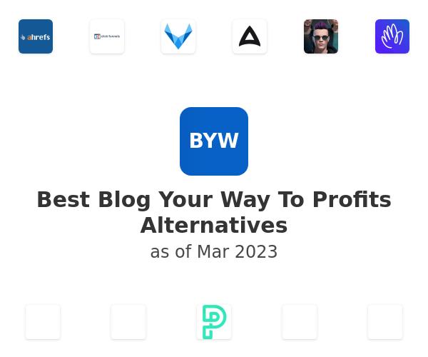 Best Blog Your Way To Profits Alternatives