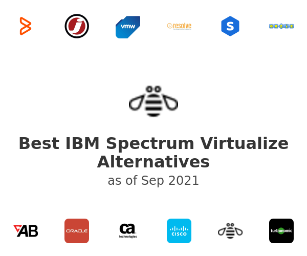 Best IBM Spectrum Virtualize Alternatives