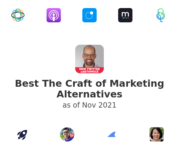 Best The Craft of Marketing Alternatives