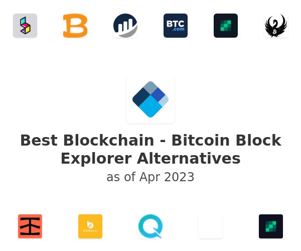 Best Blockchain - Bitcoin Block Explorer Alternatives