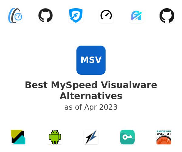 Best MySpeed Visualware Alternatives