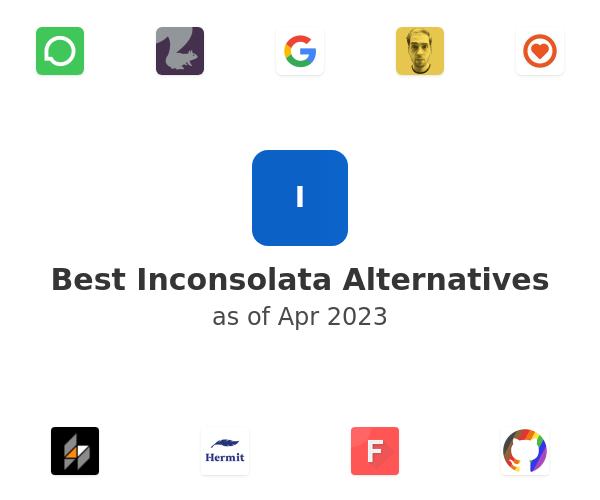 Best Inconsolata Alternatives