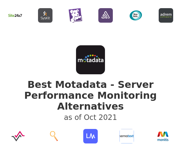 Best Motadata - Server Performance Monitoring Alternatives